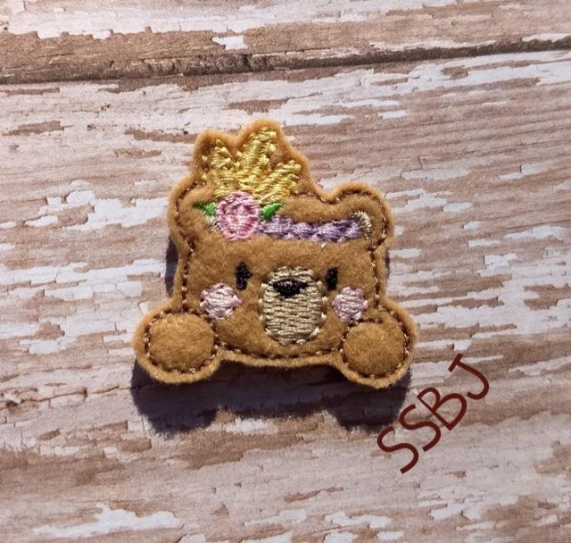 SSBJ Tribal Bear Embroidery File