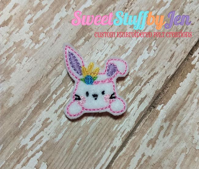 SSBJ SSBJ Tribal Bunny Embroidery File