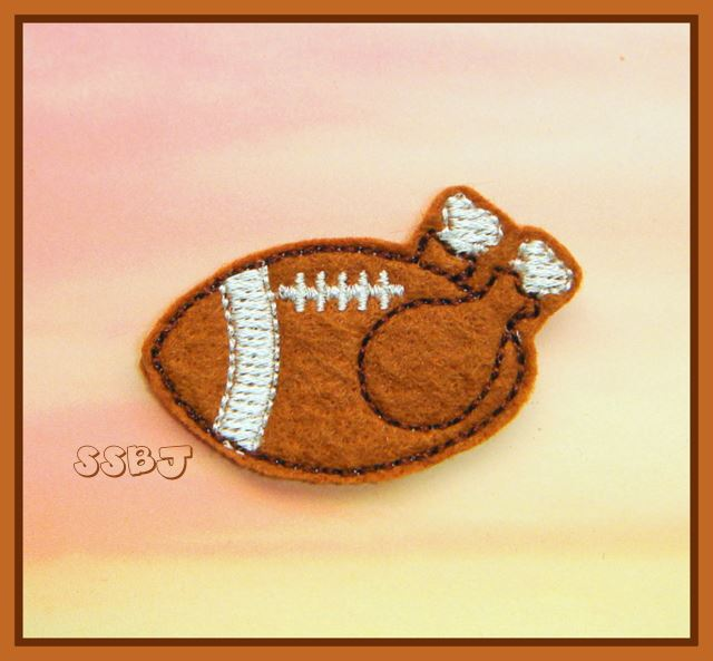 SSBJ Turkey Football Embroidery File