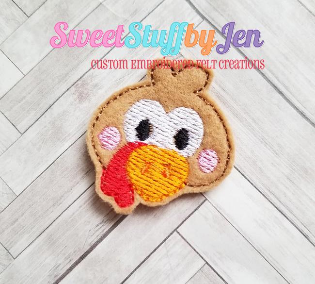 SSBJ Thanks Turkey Embroidery File