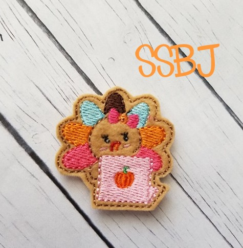SSBJ Turkey Laptop Embroidery File