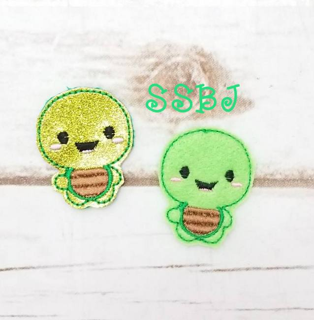 SSBJ Turtle Embroidery file