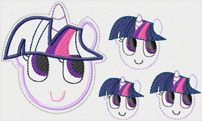 Twilight Sparkle Embroidery File