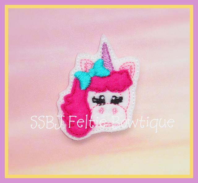 Magical Unicorn Embroidery File