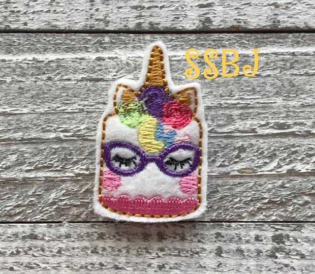 SSBJ Unicorn Cake Shades/Glasses Embroidery File