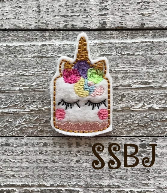 SSBJ Unicorn Cake Embroidery File