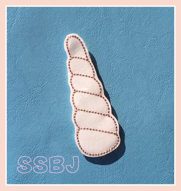 SSBJ Unicorn Horn Embroidery File