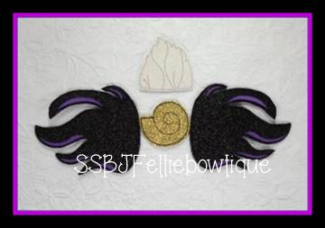 Ursula Set Embroidery Files