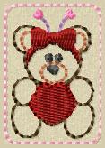 Valentina HEART Embroidery File