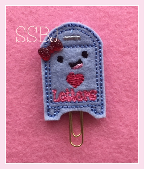 SSBJ Love Letters Mailbox Embroidery File