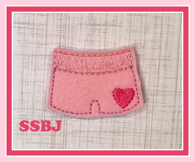 SSBJ Valentine Boxers Embroidery File