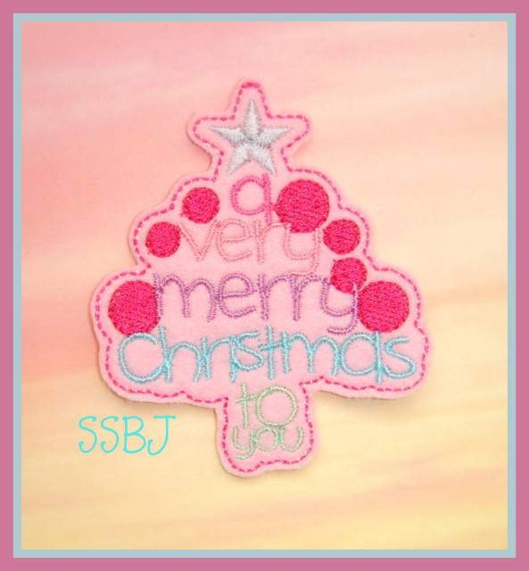 Merry Christmas to You Embroidery File