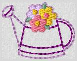 Watering Can Embroidery File