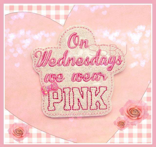 PINK Embroidery File