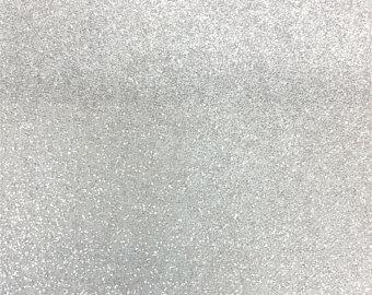 White Sparkle Embroidery Vinyl