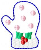 Winter Mittens Embroidery File