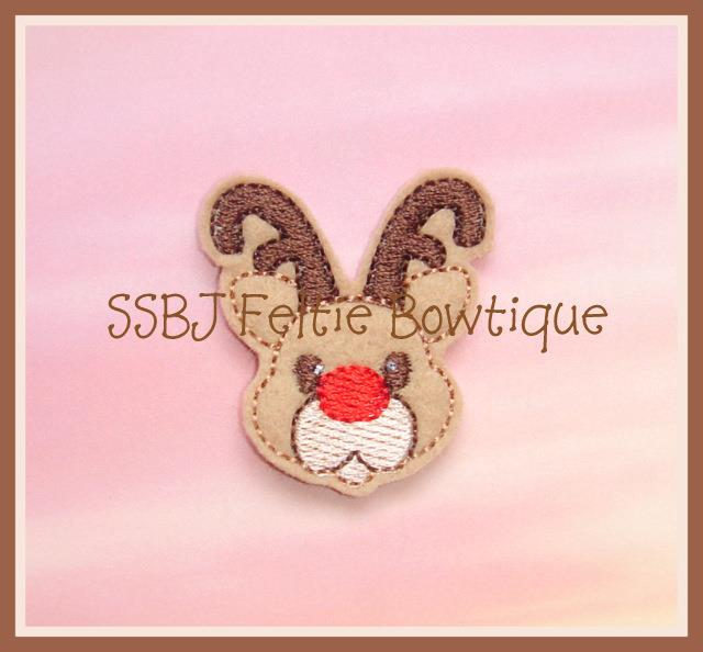 Winter Reindeer Embroidery File