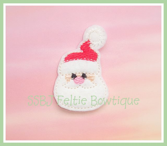 Winter Santa Embroidery File