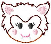 Wolfie Embroidery File