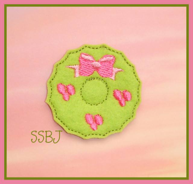 Wreath Embroidery File