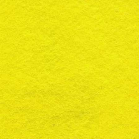 *Yellow Wool Blend Felt