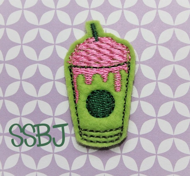SSBJ Zombie Frap Embroidery File