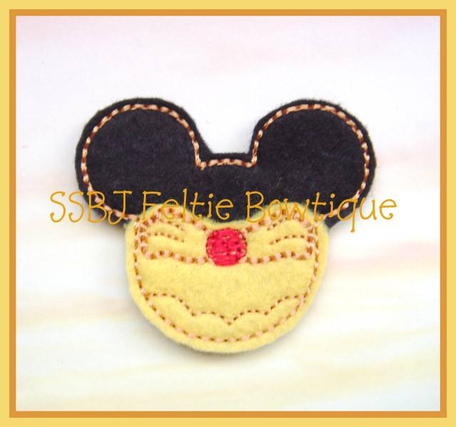 Belle Mouse Embroidery File
