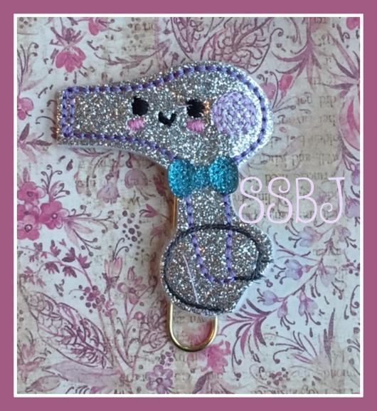 SSBJ Kutie Blowdryer Embroidery File