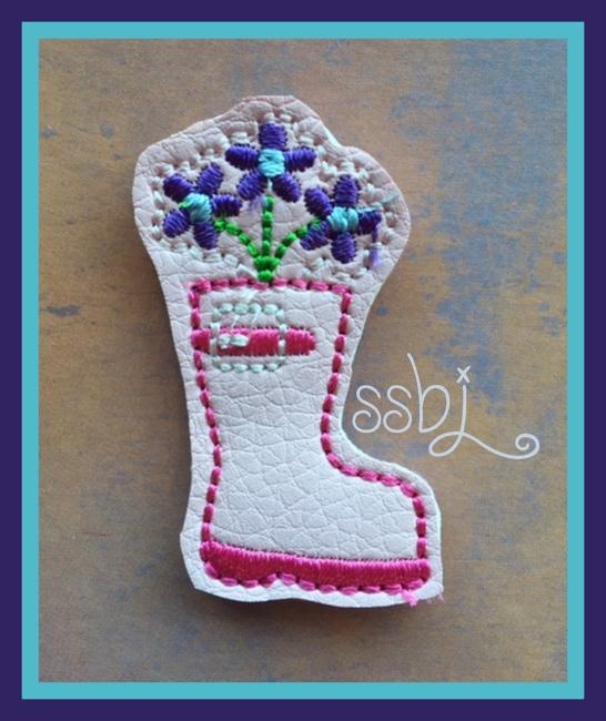 SSBJ Rainboot Embroidery File