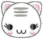 Cutie Cat Embroidery File SET