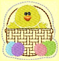 ChicknBasket Embroidery File
