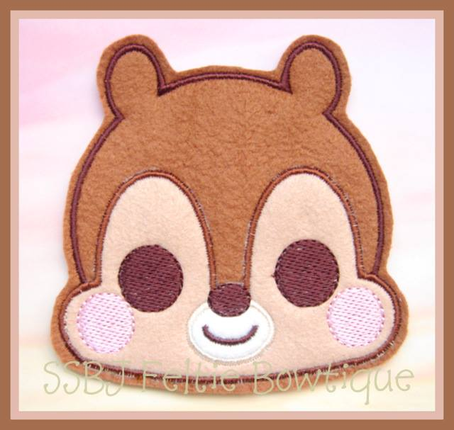 Babie Chip Embroider File Set