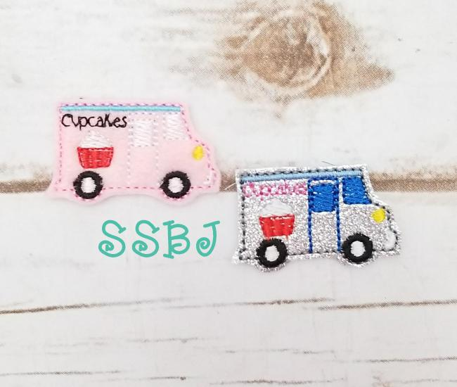SSBJ Cupcake Truck Embroidery File