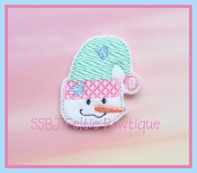 Cutie Patootie Snowgal Embroidery File