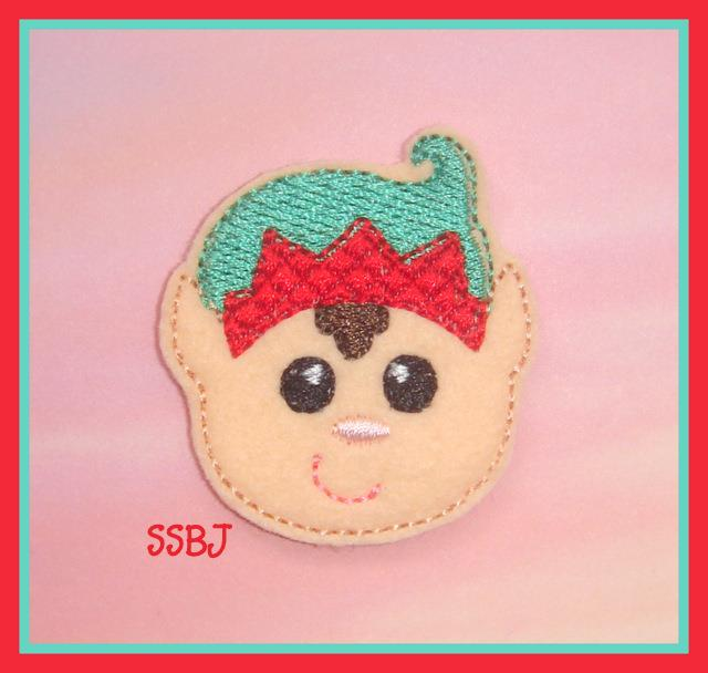 Santa's Elf Embroidery File