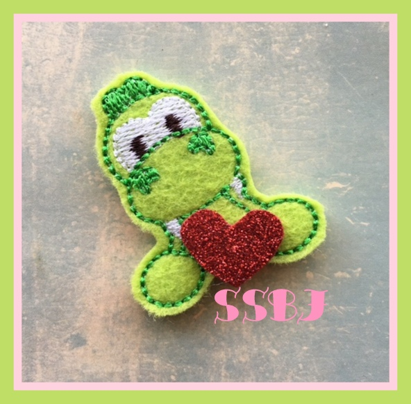 SSBJ Framed Gator Embroidery File