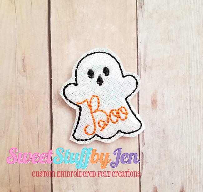 SSBJ BOO Ghost 2 Embroidery File