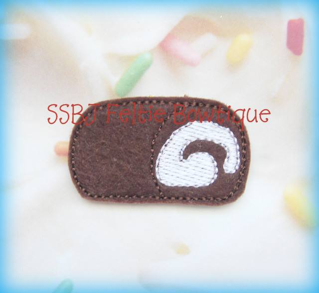 Chocolate Cake Roll Embroidery File