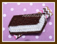 Ice Cream Sandwich Embroidery File