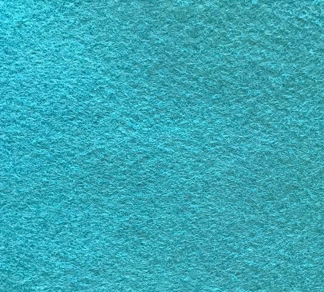 *Jaded Ocean Wool Blend Felt