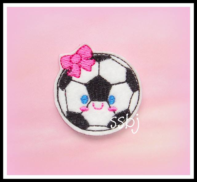 Kutie Soccerball Embroidery File