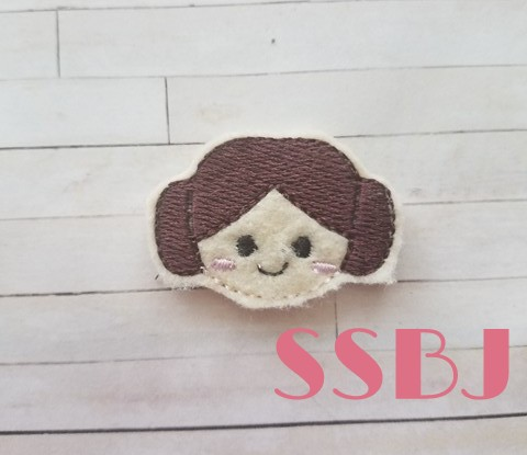 SSBJ Princess Leia Embroidery File