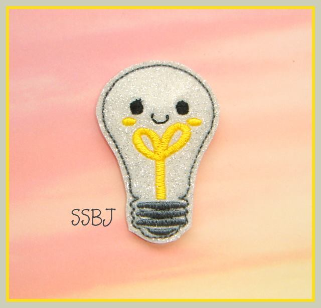 Light Bill Embroidery File