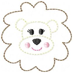 Lion Embroidery File