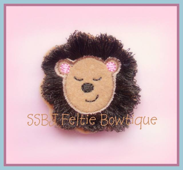Jungle Lion Embroidery File