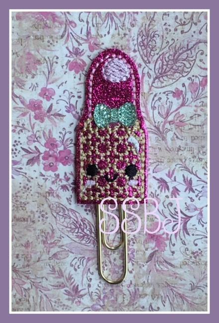 SSBJ Kutie Lipstick Embroidery File