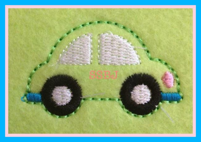Lovebug Embroidery File