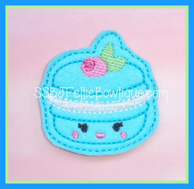 Macaroon Embroidery File
