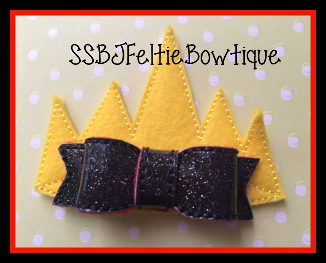 Evil Queen Crown Embroidery File