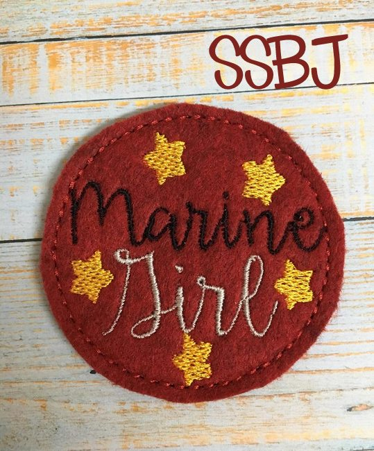 SSBJ Marine Girl Embroidery File